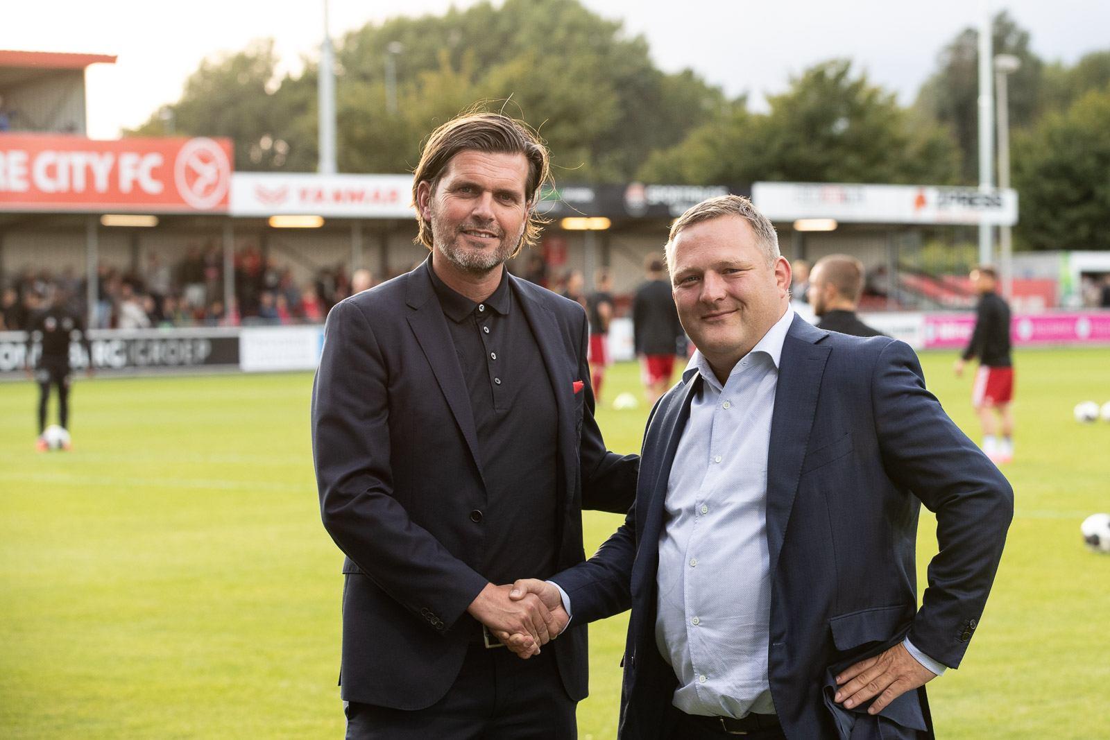 Yvey horecapartner van Almere City FC