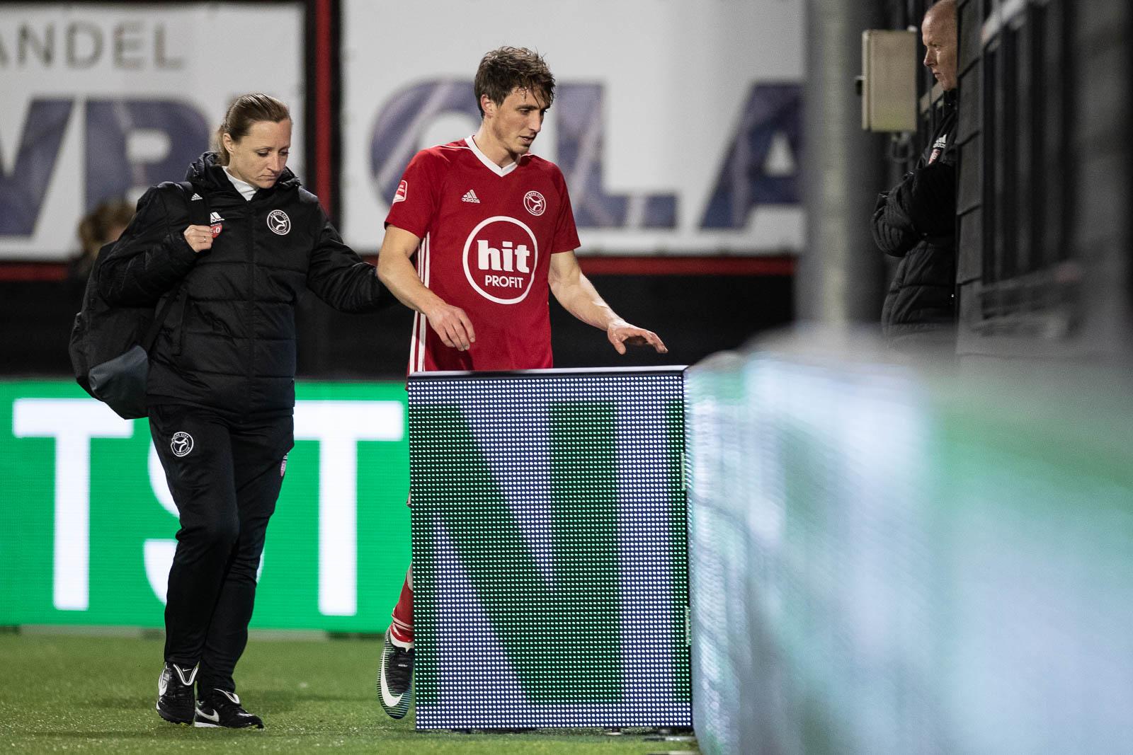 Almere City FC voorlopig zonder Receveur