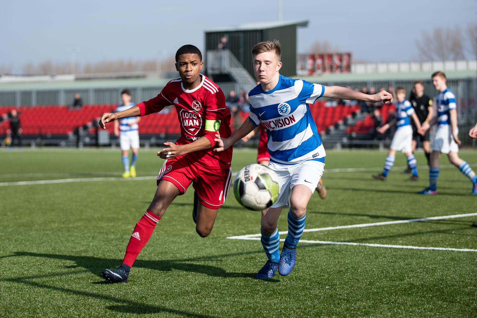 Almere City FC O15 verliest van De Graafschap