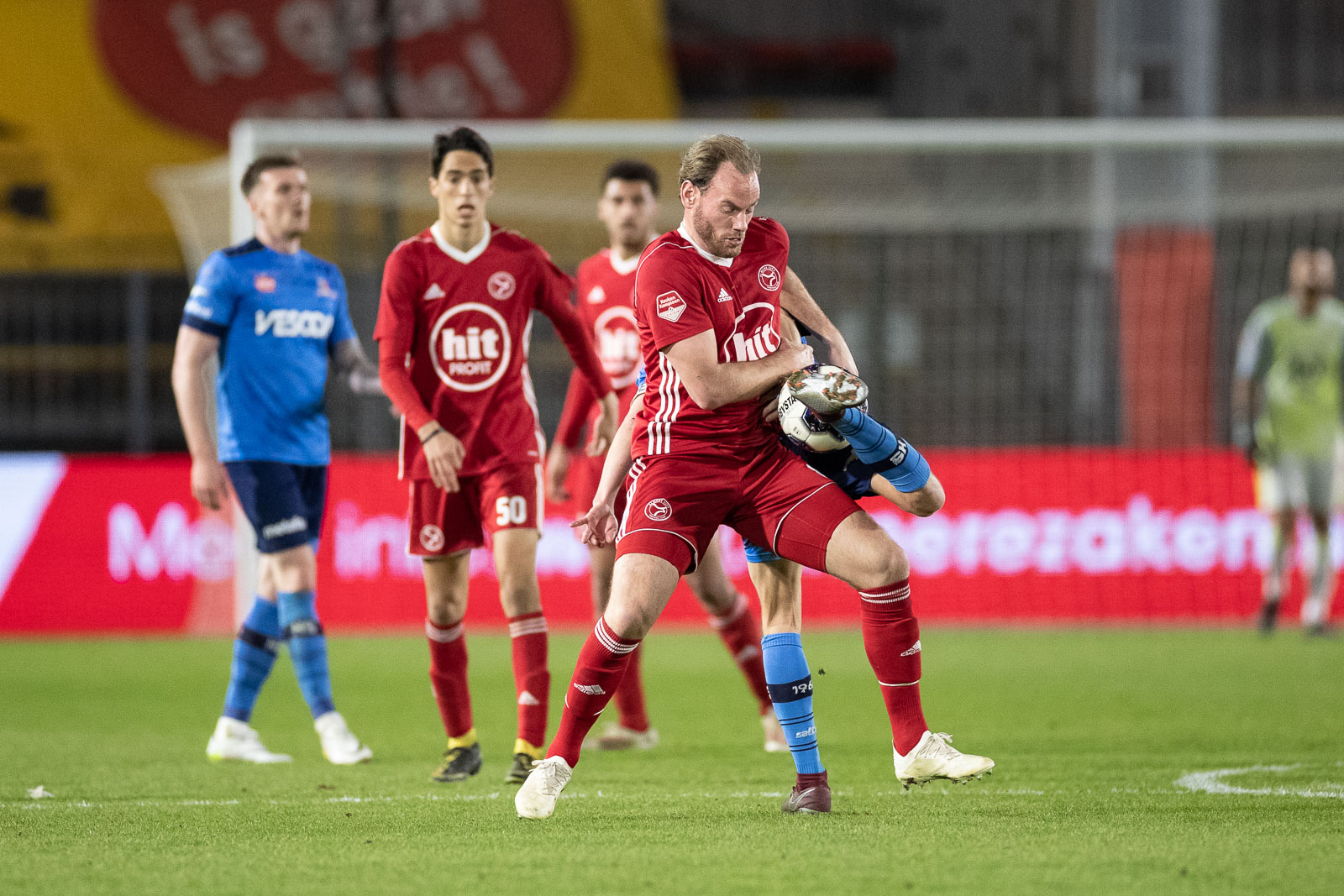 Vossebelt: 'Vol vertrouwen en topfit play-offs in'