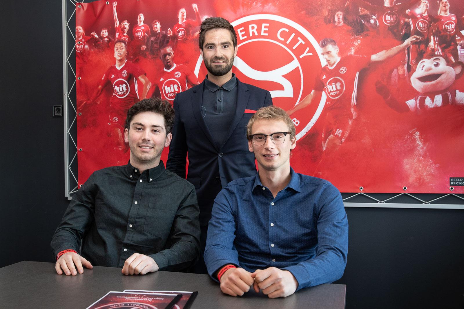 Voetbaltrips.com terug als sponsor Almere City FC