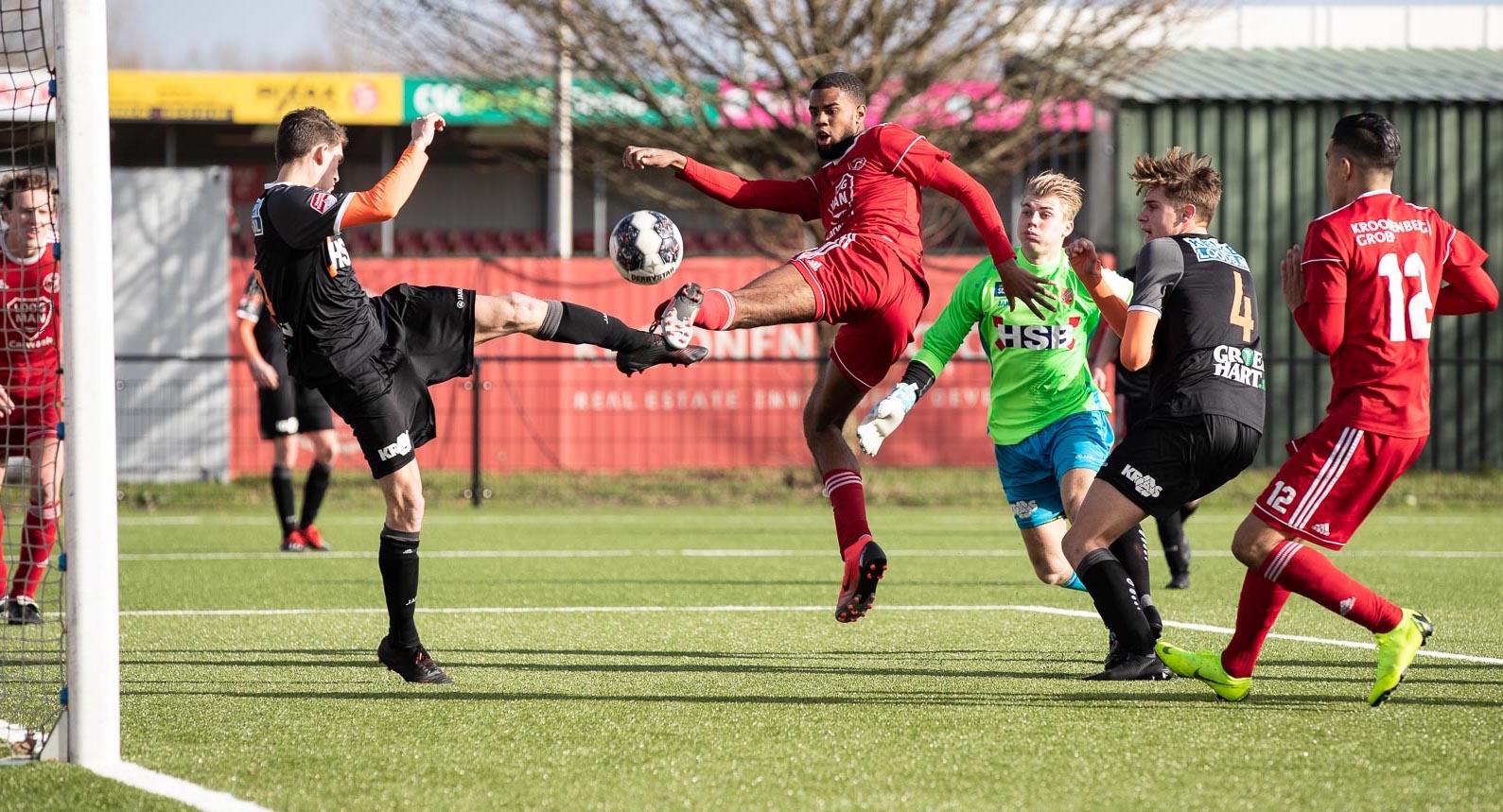Eredivisie lonkt voor Almere City O19