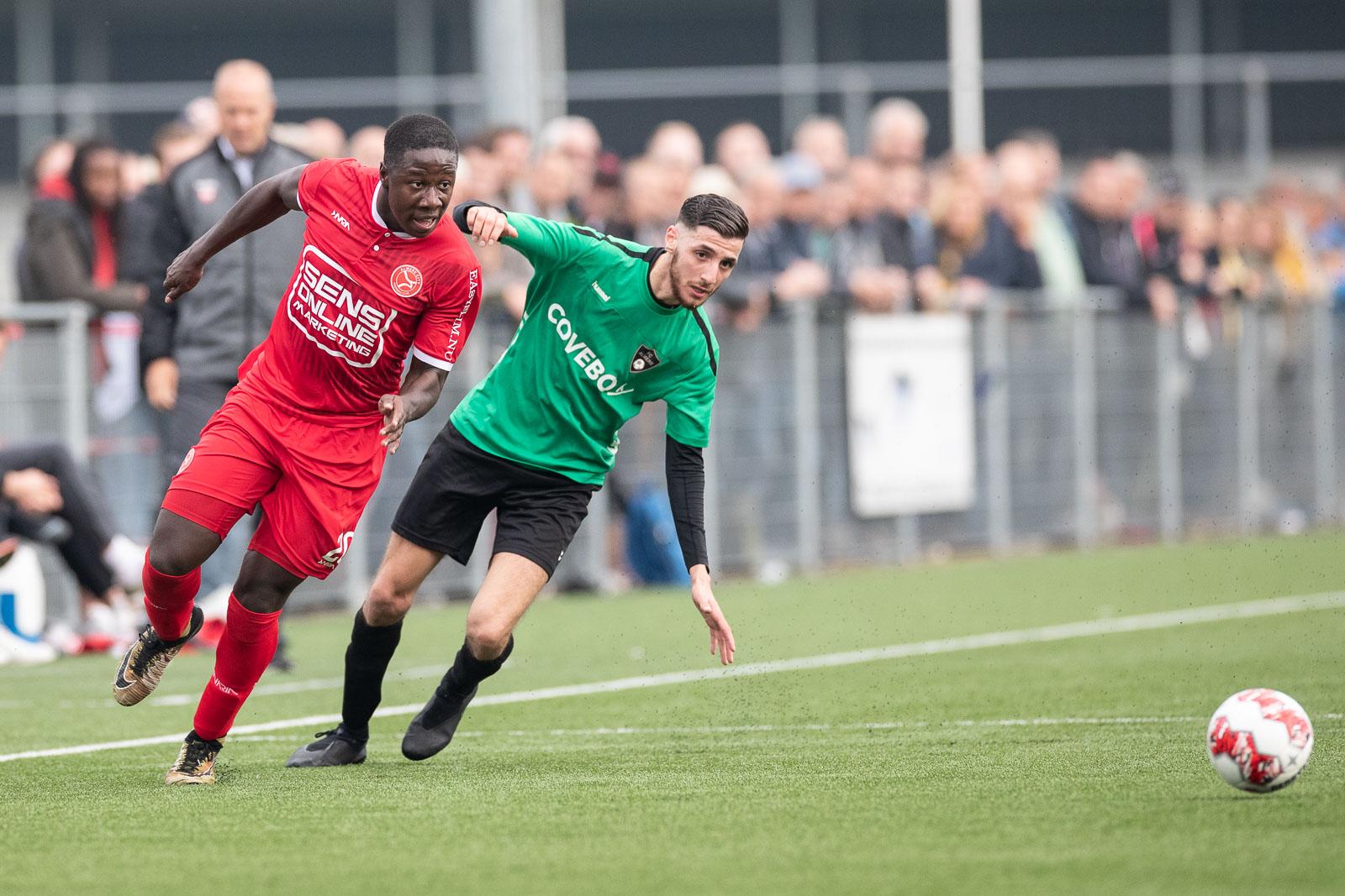 Almere City FC haalt ook tegen FC Almere de dubbele cijfers