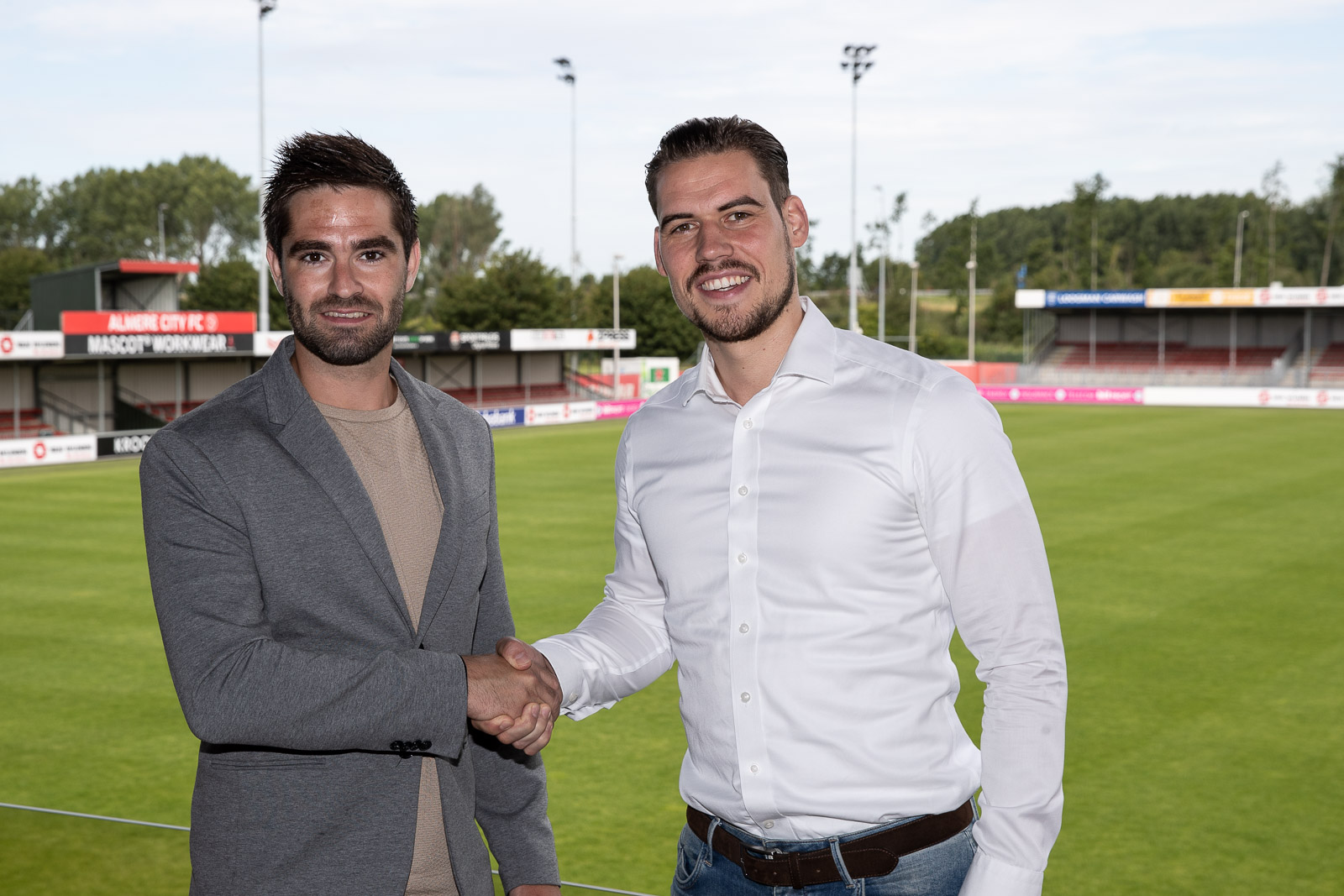 Webo Promotion en Almere City FC continueren partnership