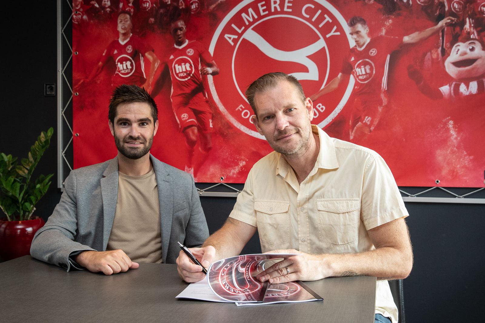 Welkom Energie en Almere City FC verlengen partnership