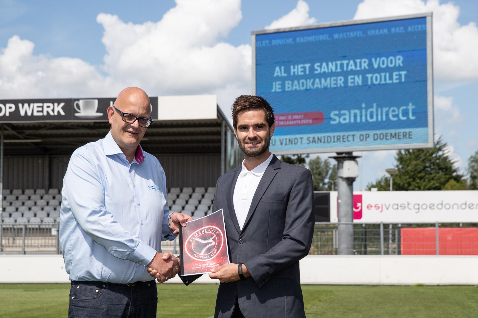 Sanidirect Almere tekent drie jaar bij