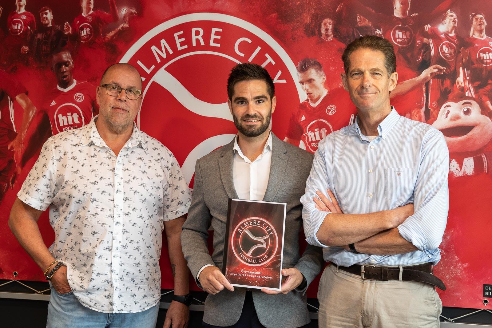 PGN en Almere City FC langer met elkaar door