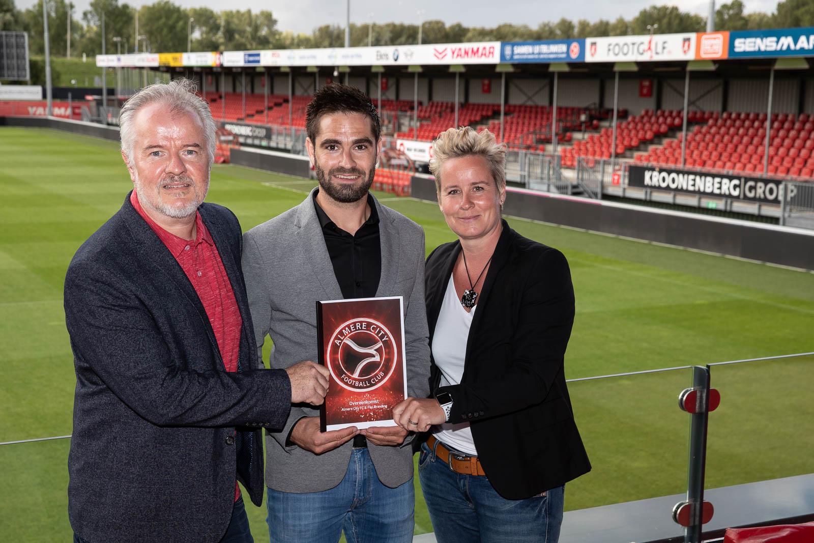 Pan Branding opnieuw van partij bij belevingsmerk Almere City FC