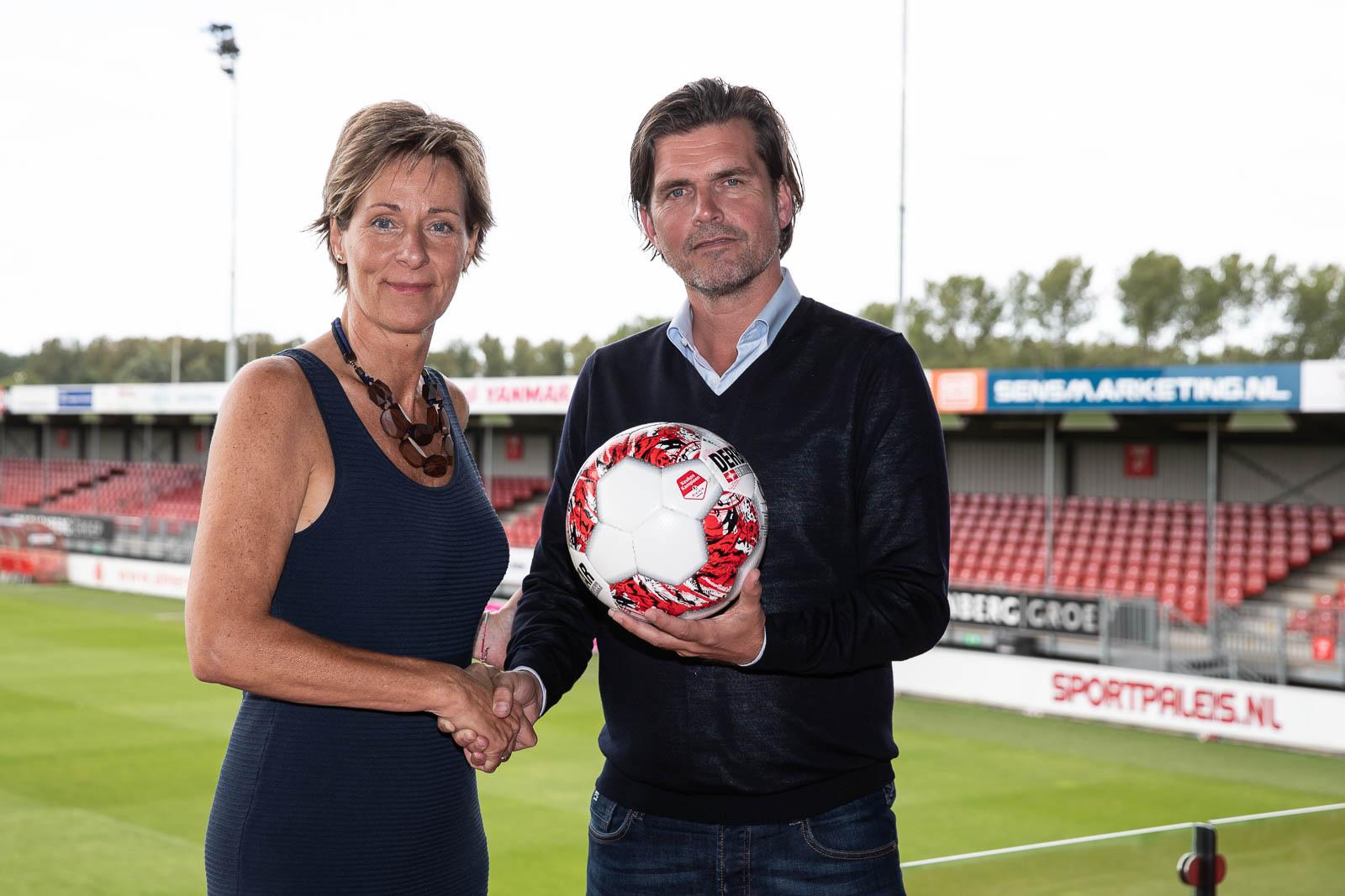 Almere City FC nieuwe partner van Johan Cruyff Institute