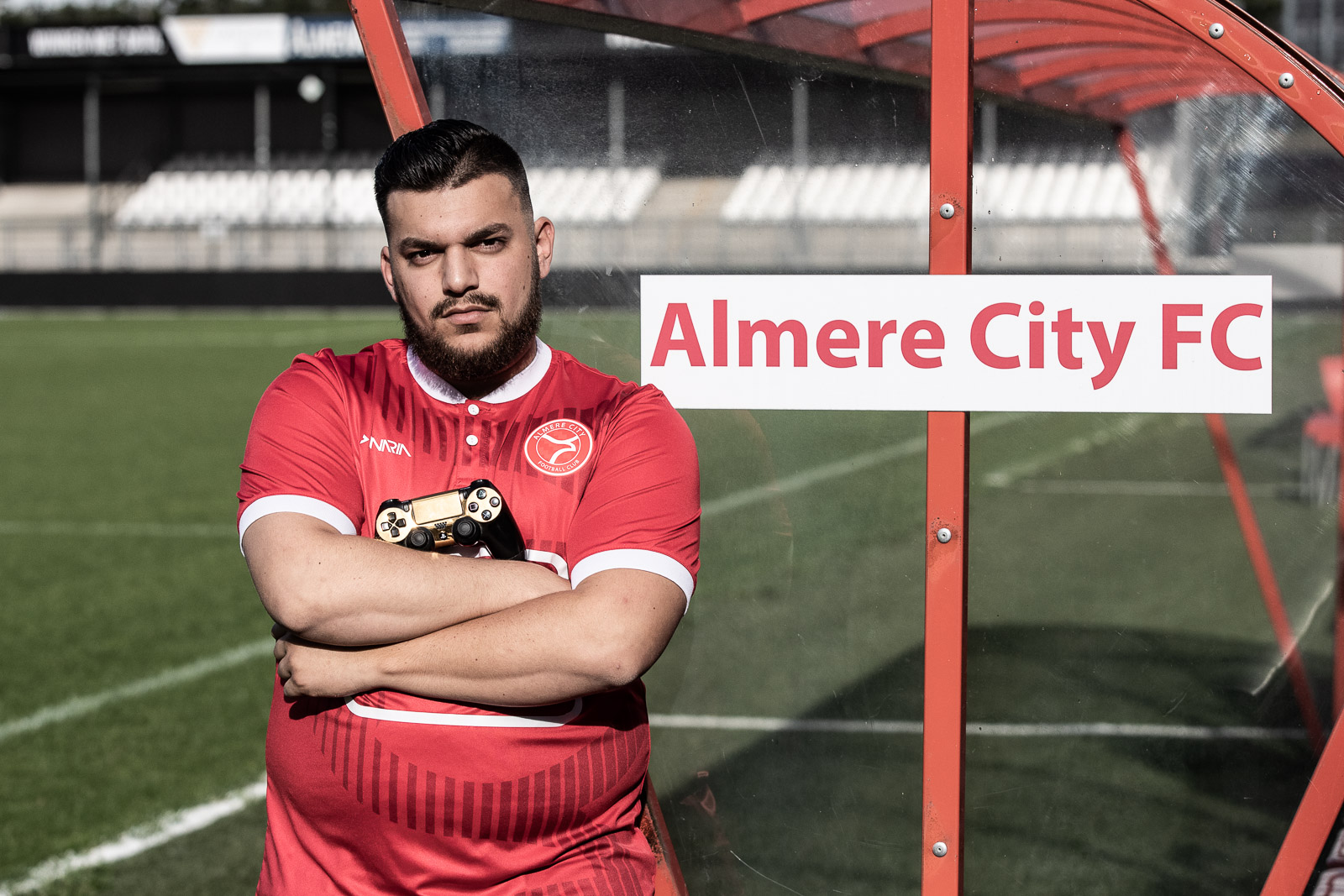 Yonni Kan e-Sporter van Almere City FC