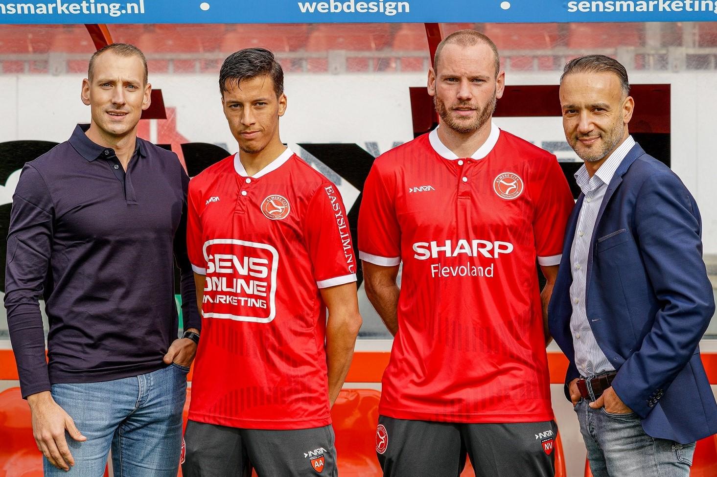 SHARP Flevoland is tweede periodesponsor van Almere City FC