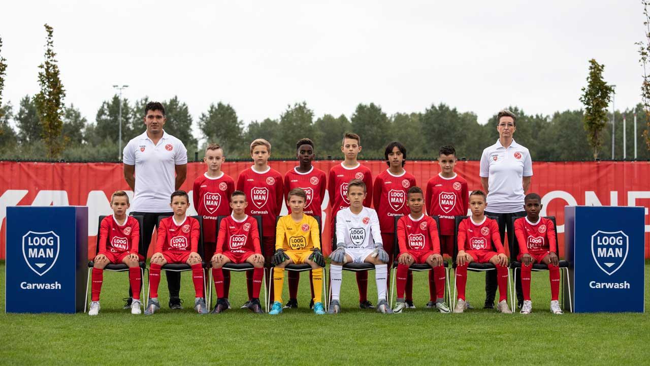 Alleen O12 vandaag op Loogman Carwash Almere Football Academy