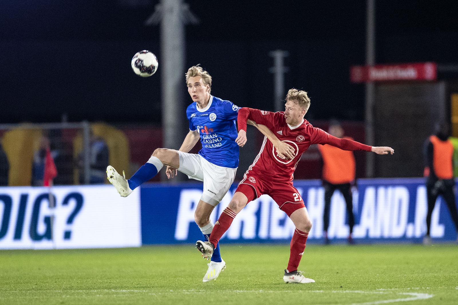 Almere City FC vaak sterk tegen FC Den Bosch