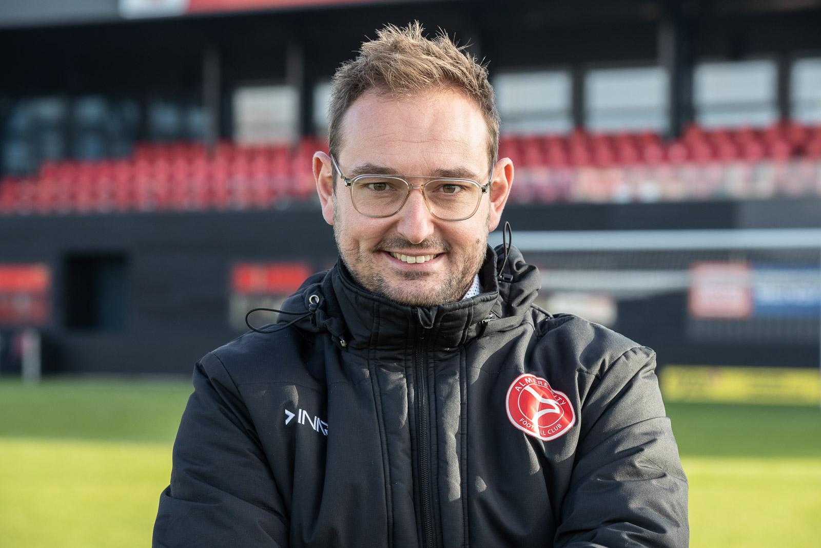 """Teun Jacobs: ,,Almere City FC moet de nieuwe benchmark worden"""""""