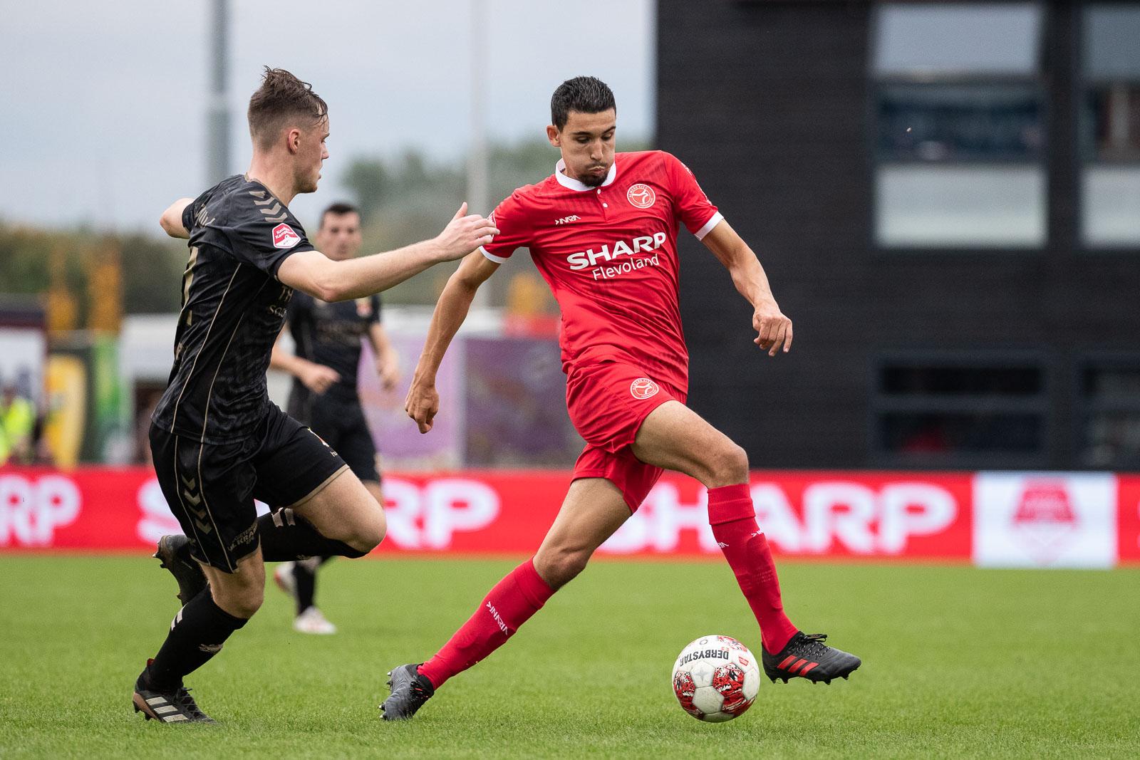 SHARP Flevoland shirtsponsor TOTO KNVB Beker Almere City FC