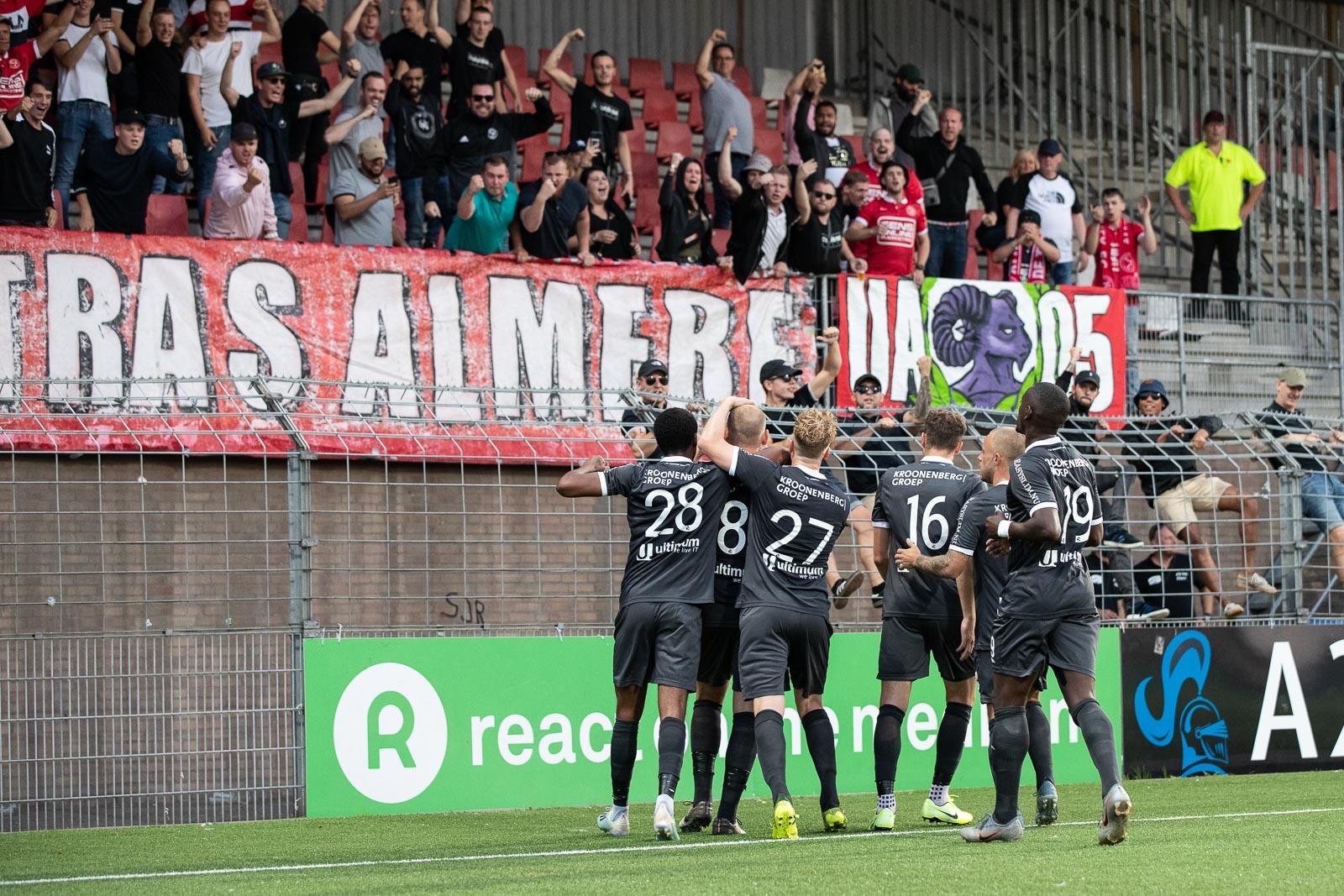 Almere City FC op puntenjacht tegen Helmond Sport