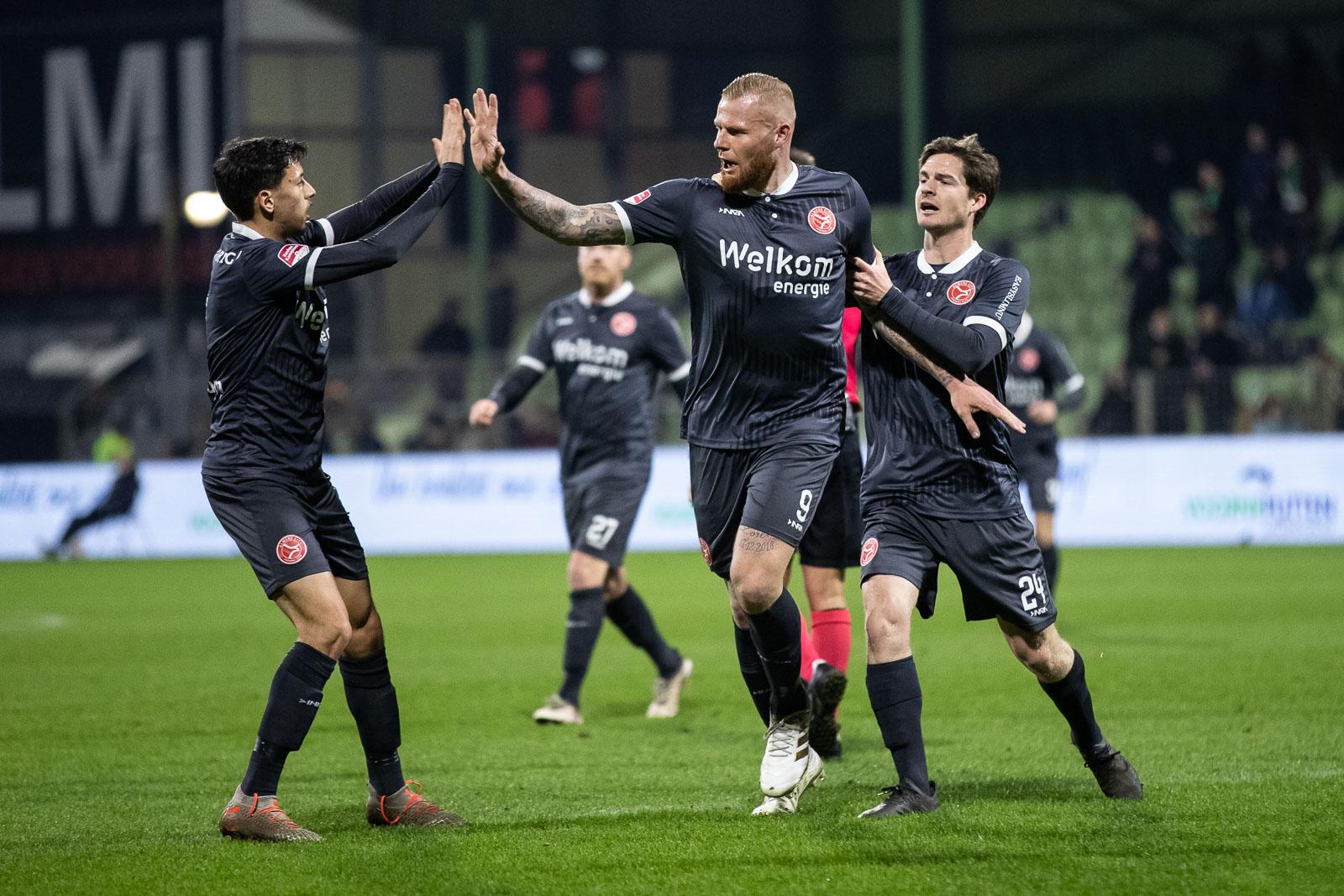Almere City FC mengt zich in strijd om derde periode