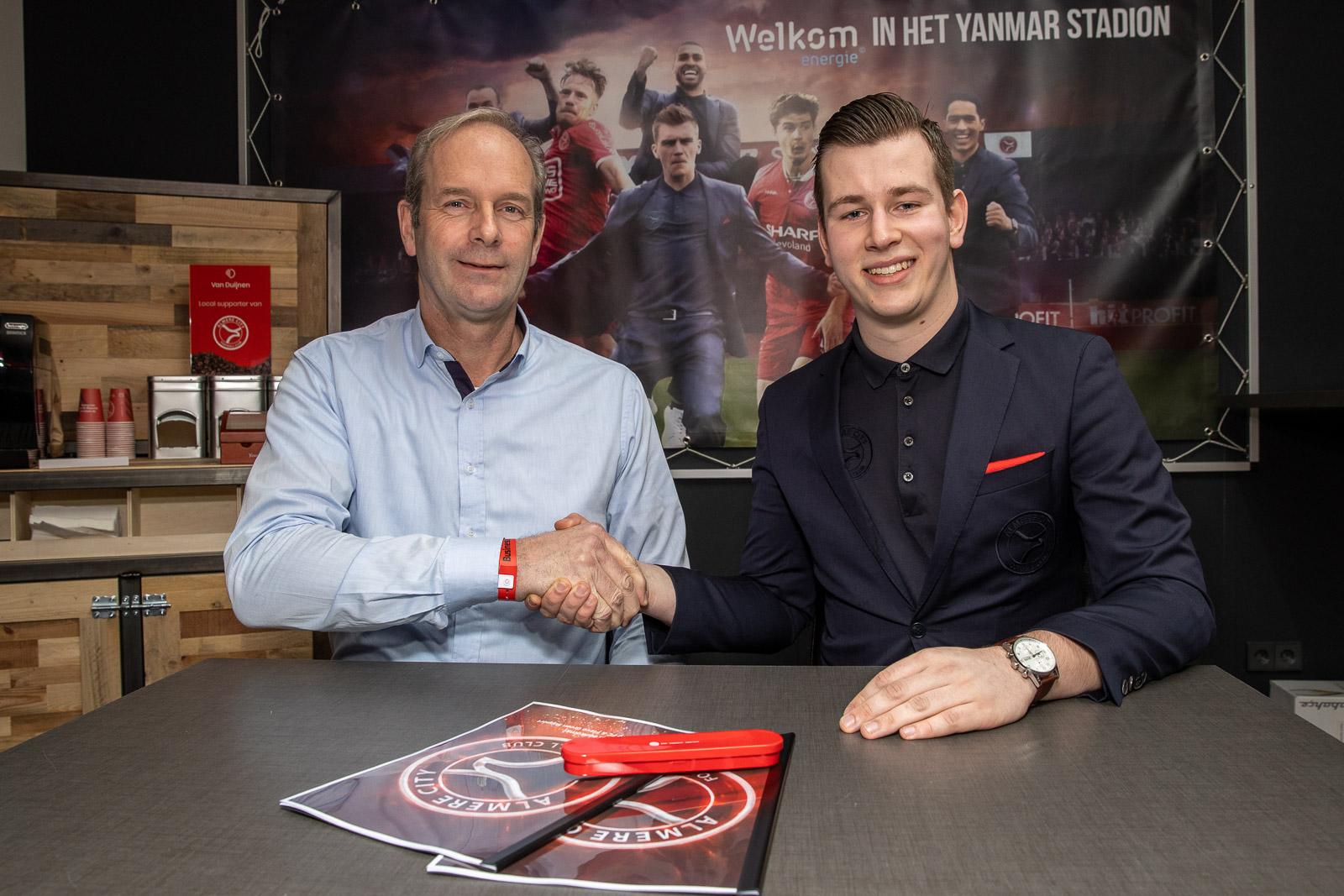 Flevo Green Support plant zich in businessclub Almere City FC