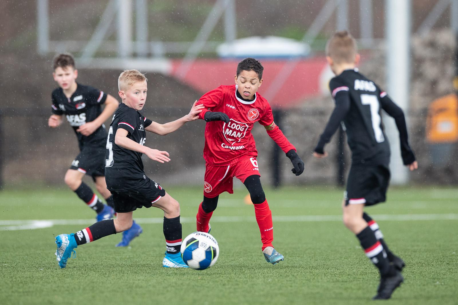 Seizoen Football Academy abrupt ten einde