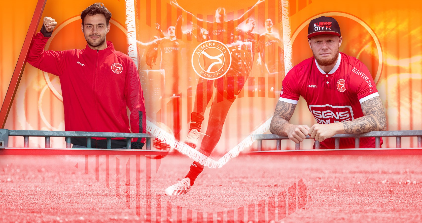 Koningsdagkleedje: mega online sale Almere City FC