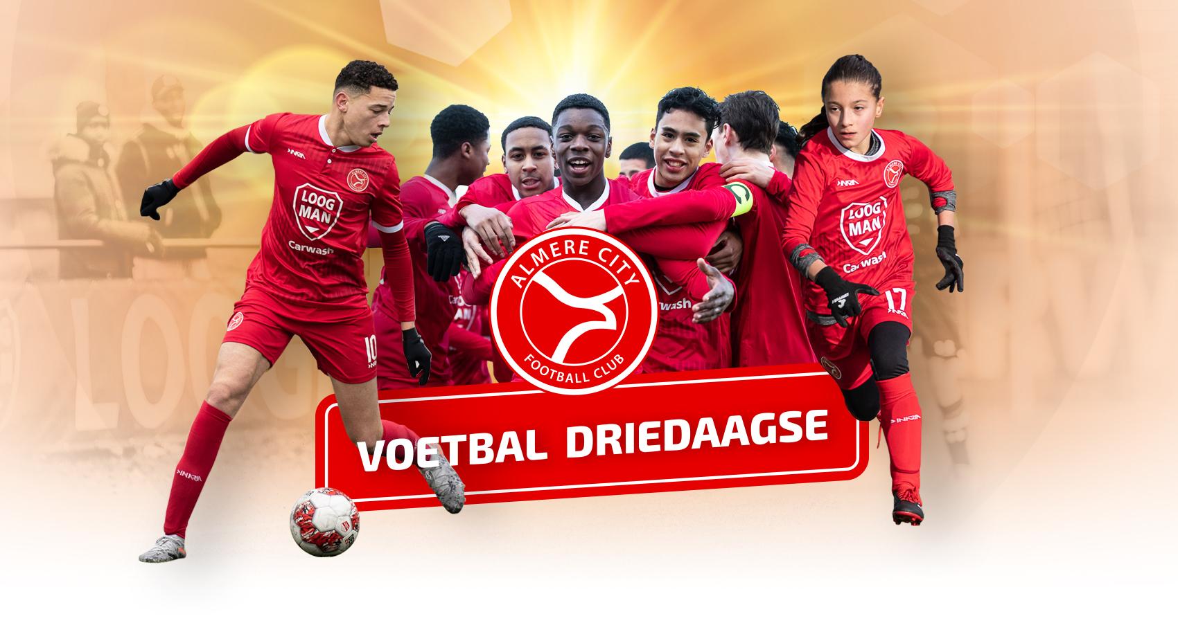 Schrijf je in voor de Voetbal Driedaagse!