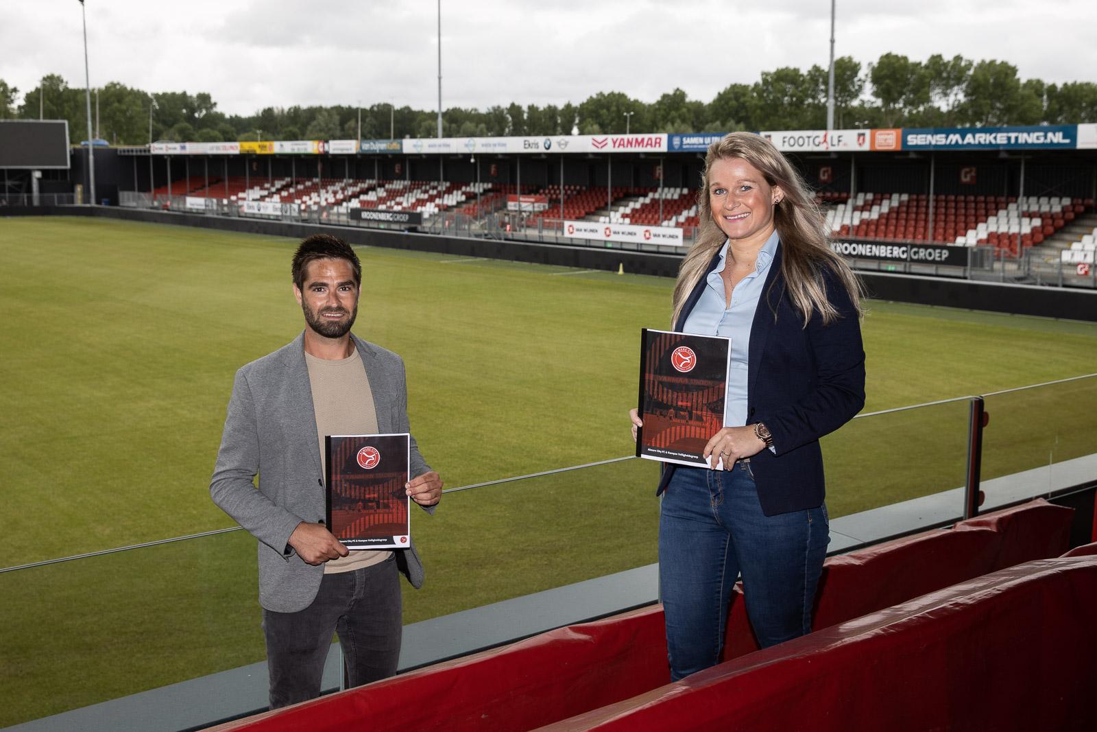 Kompas Veiligheidsgroep in veilige handen bij Almere City FC