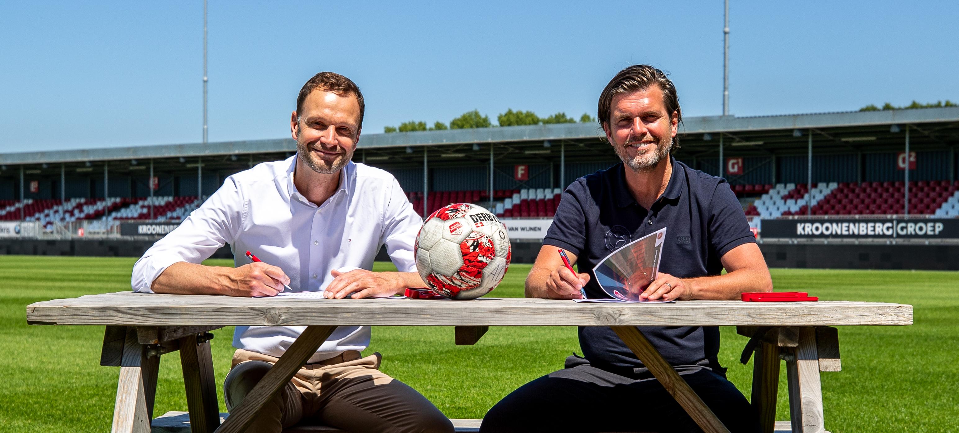 Almere City FC sluit overeenkomst met Windesheim in Almere