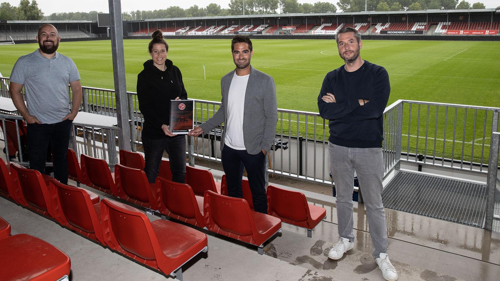 Steleniszinloos nu ook bij de businessclub van Almere City FC