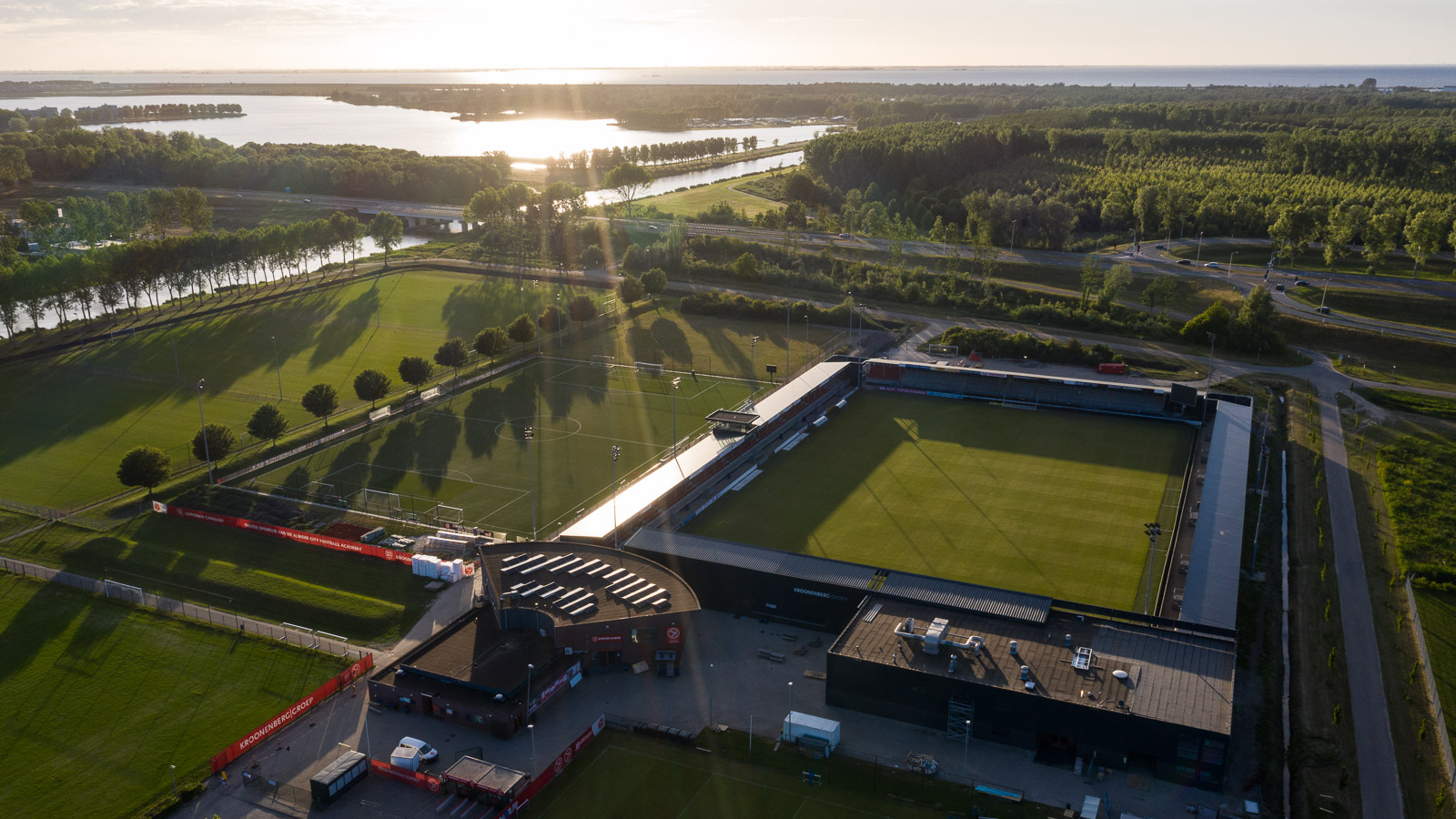 Almere City FC participeert in pilot Fieldlab