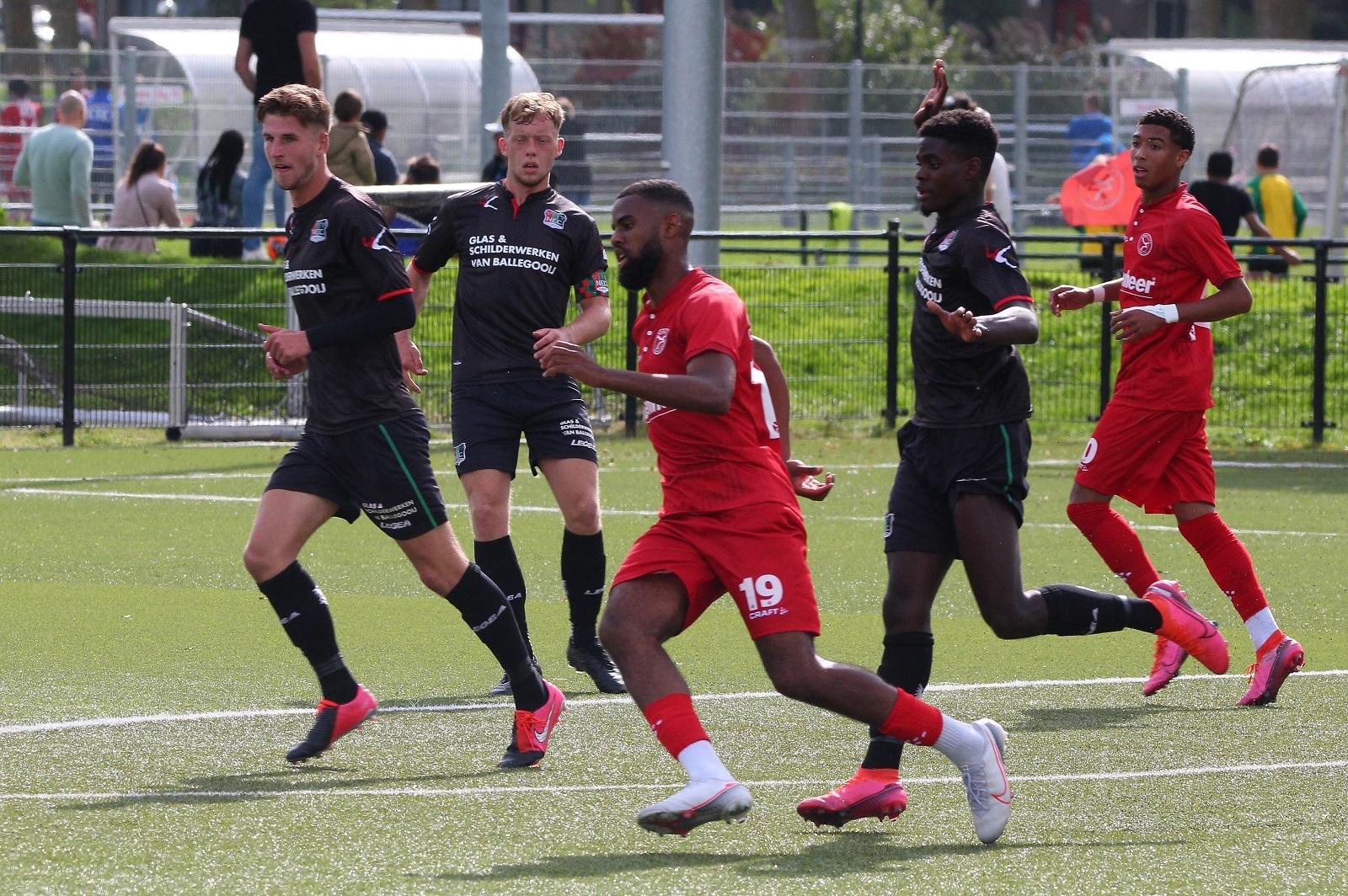 Almere City FC O21 maakt zich op voor topduel