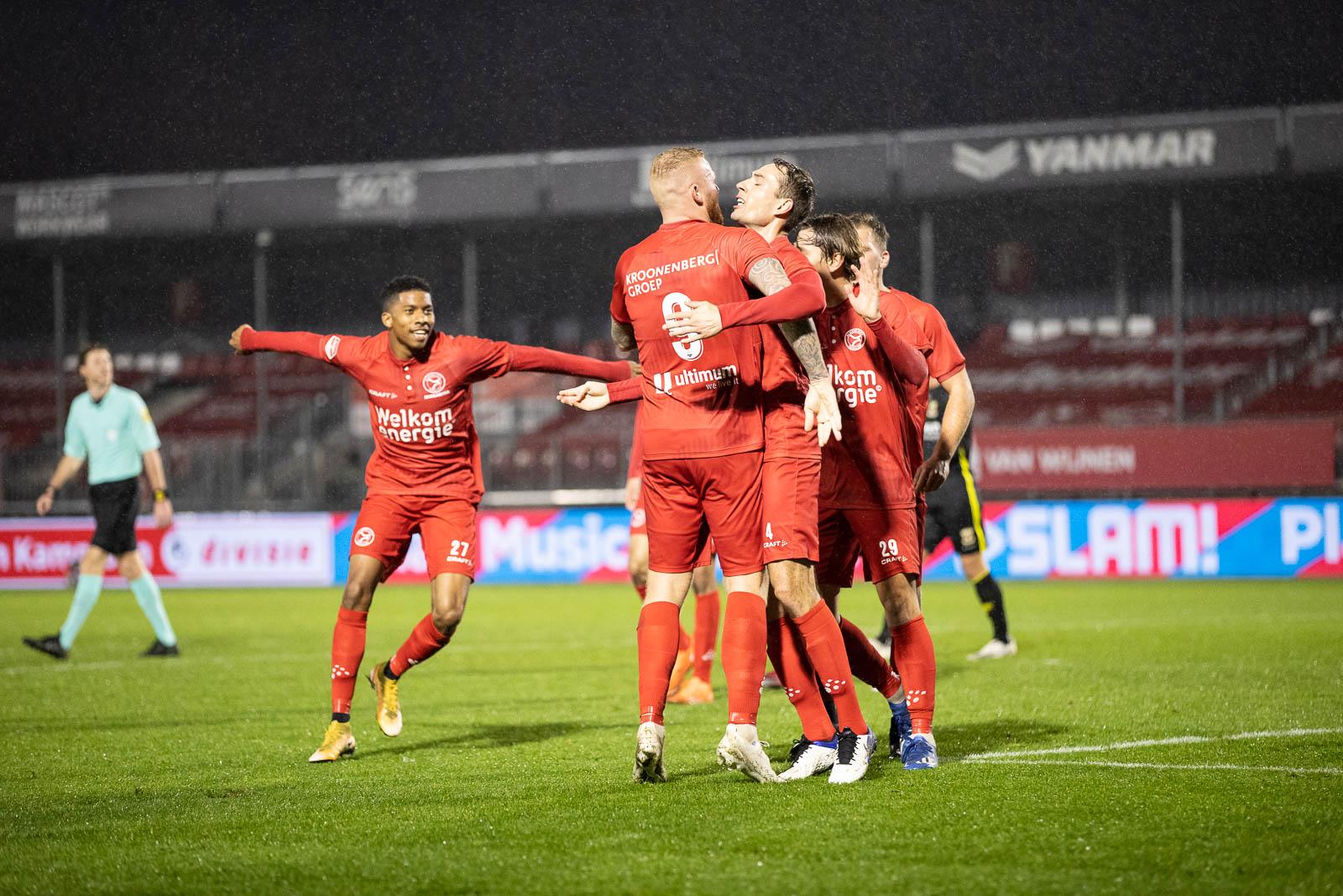 Standaardsituatiesucces voor Almere City FC