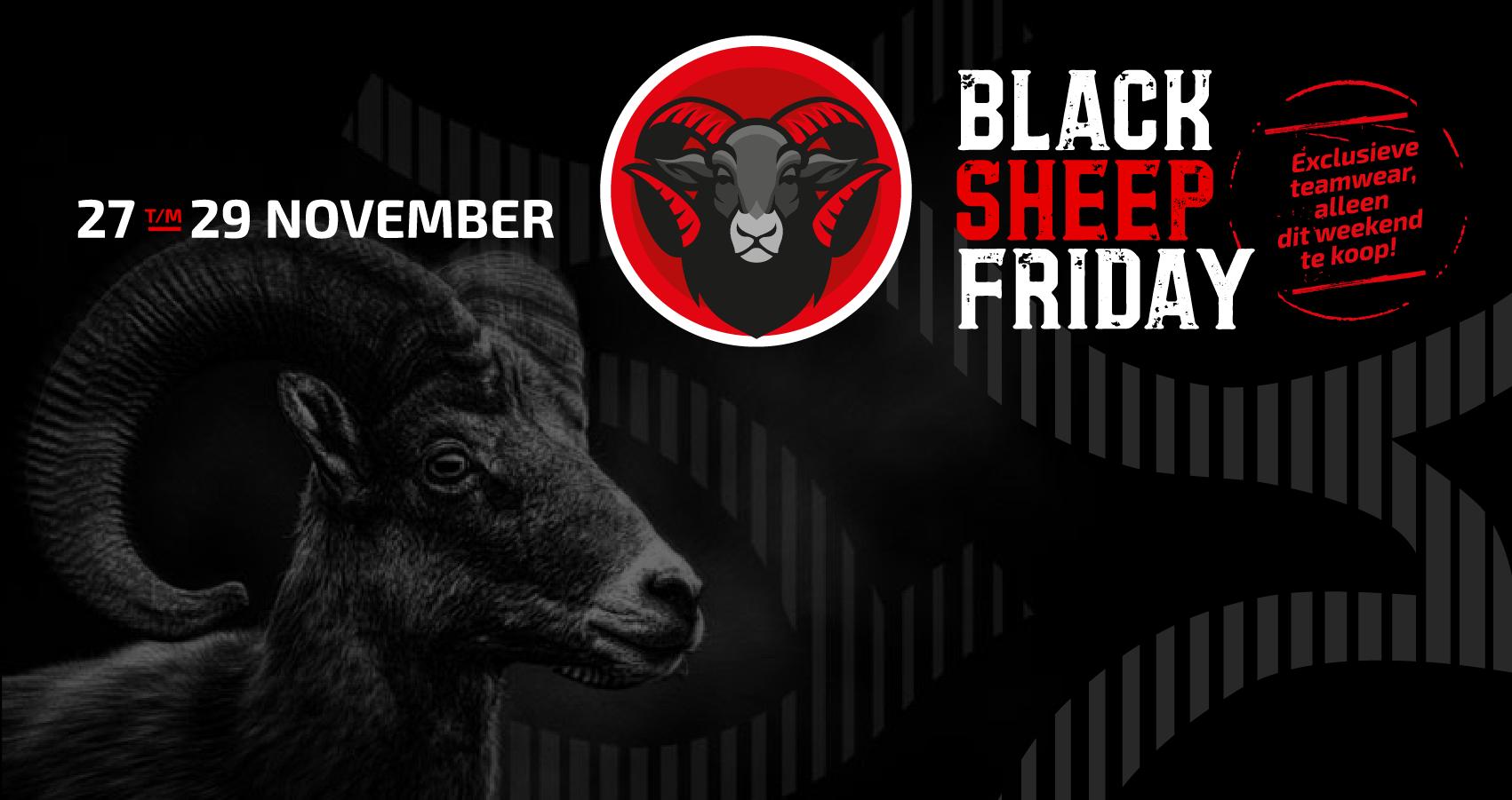 Almere City FC pakt weer uit met Black Sheep Friday