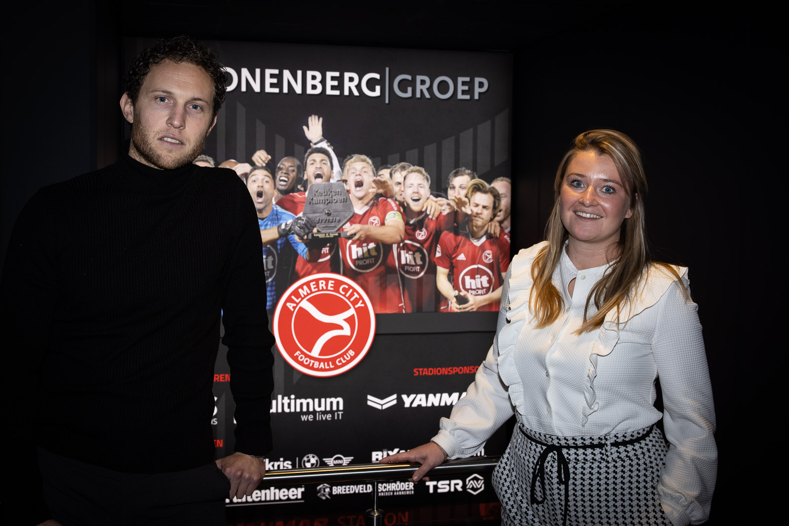 Almere City FC verkiest aanval boven verdediging