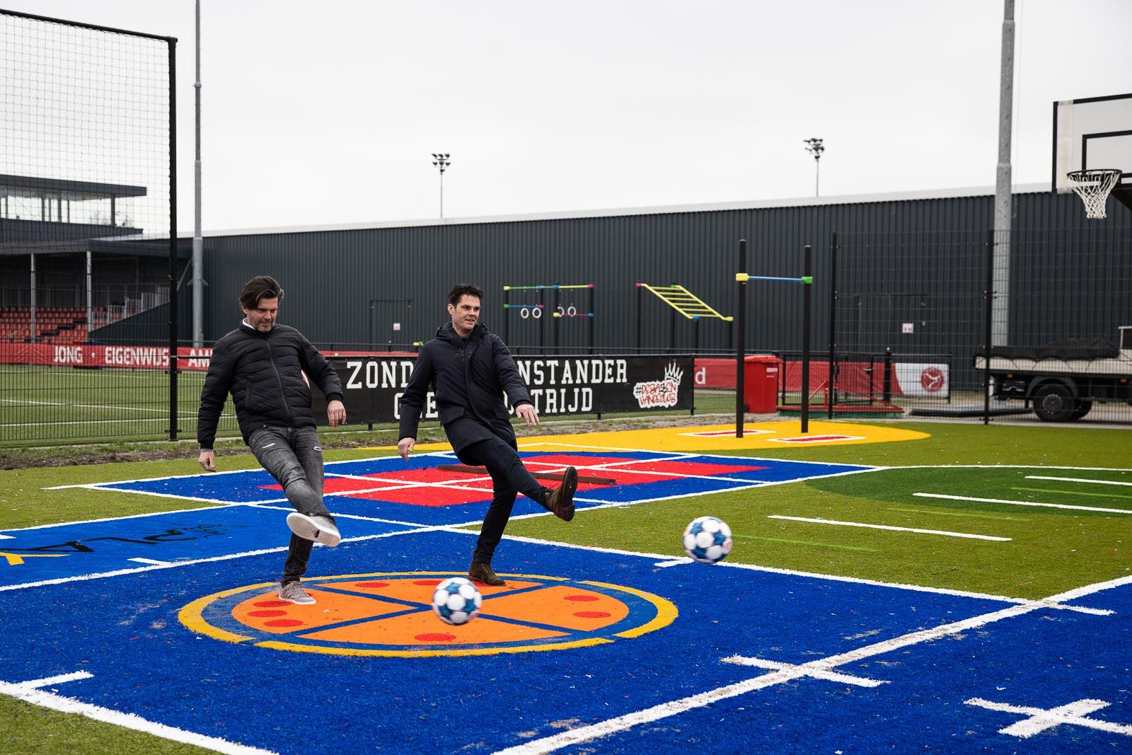 Almere City FC realiseert ASM-veld op Football Academy