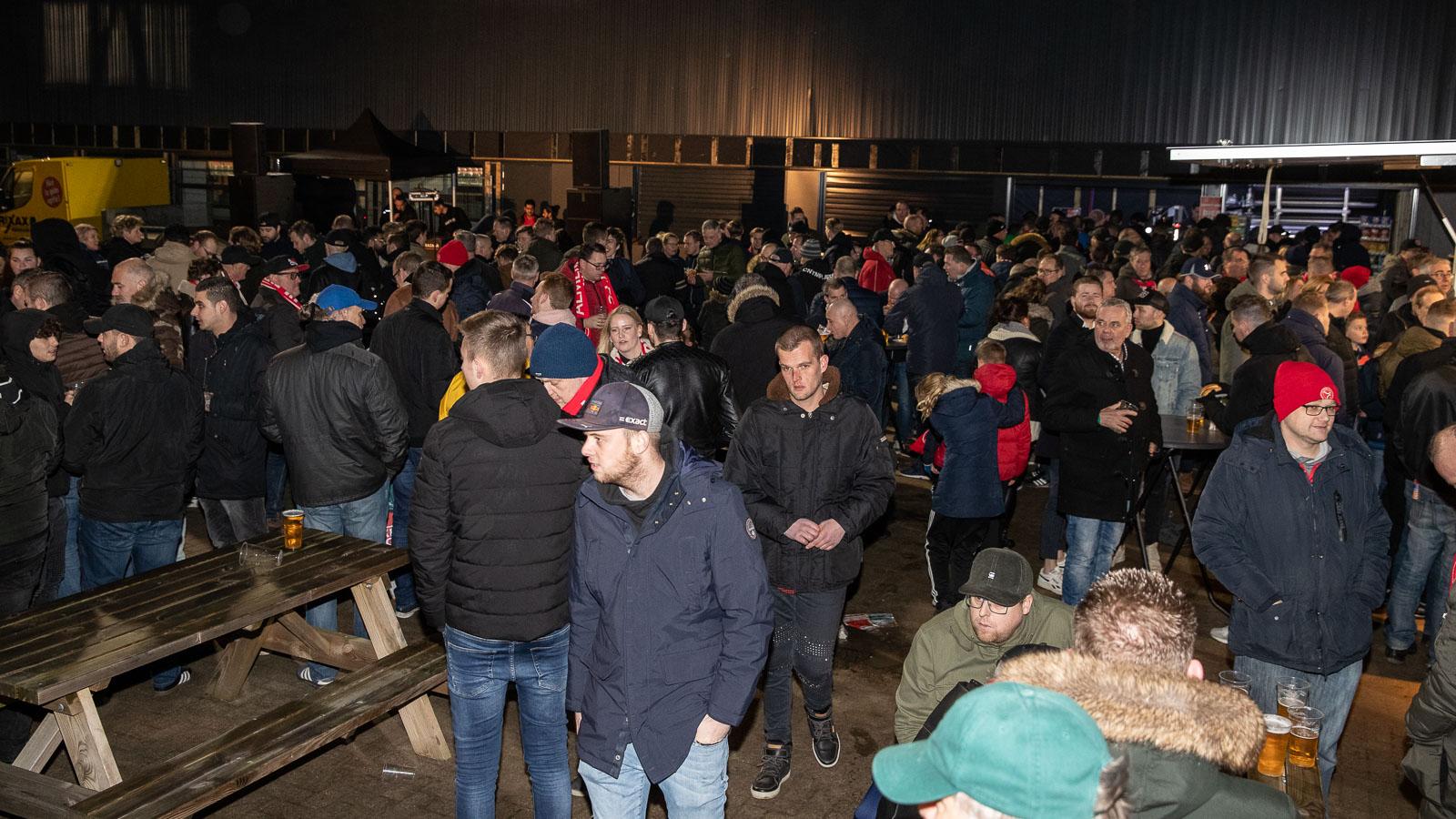 Klein deel parkeerplaatsen Almere City FC 'betaald parkeren'