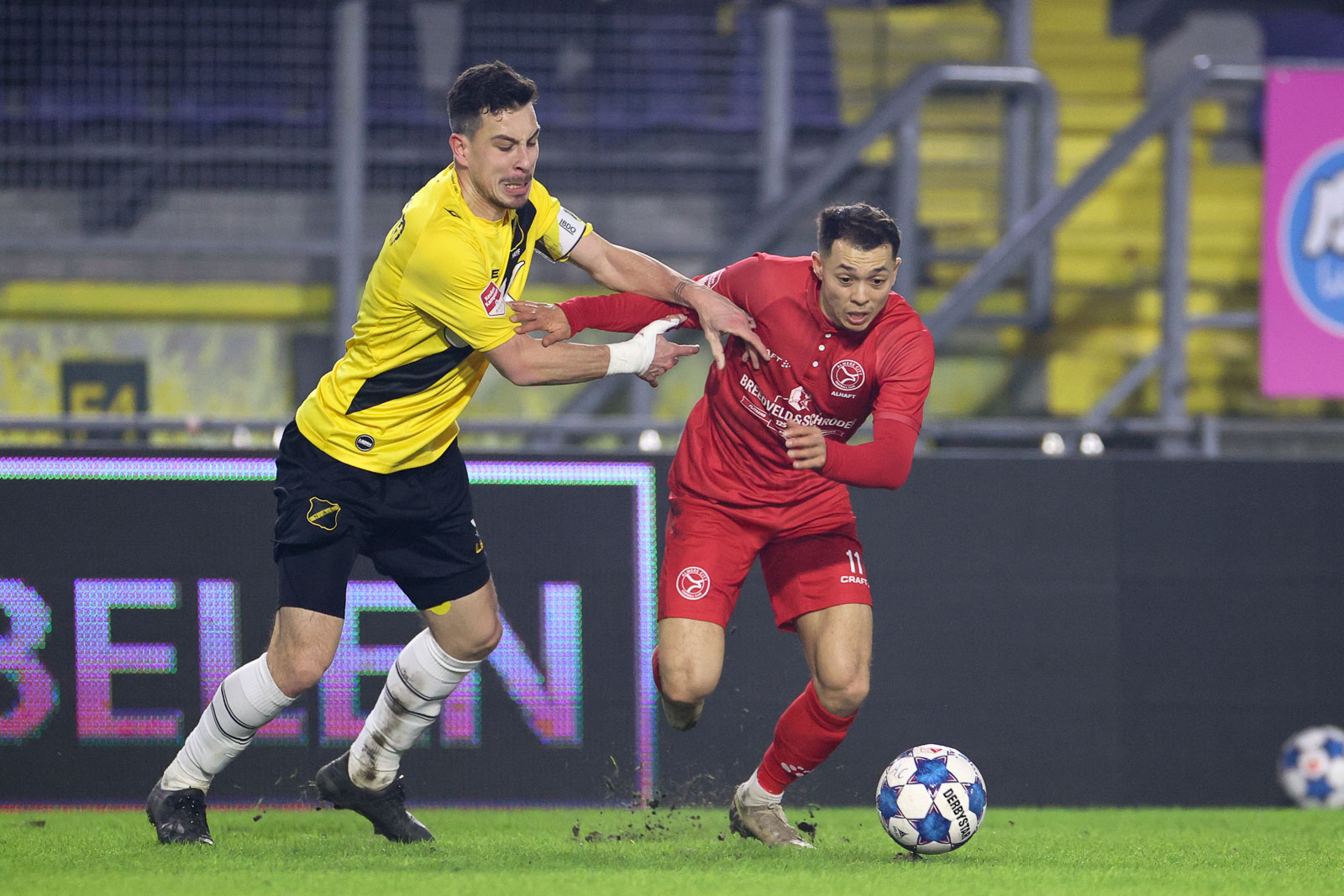 Almere City FC in Breda naar de ratsmodee