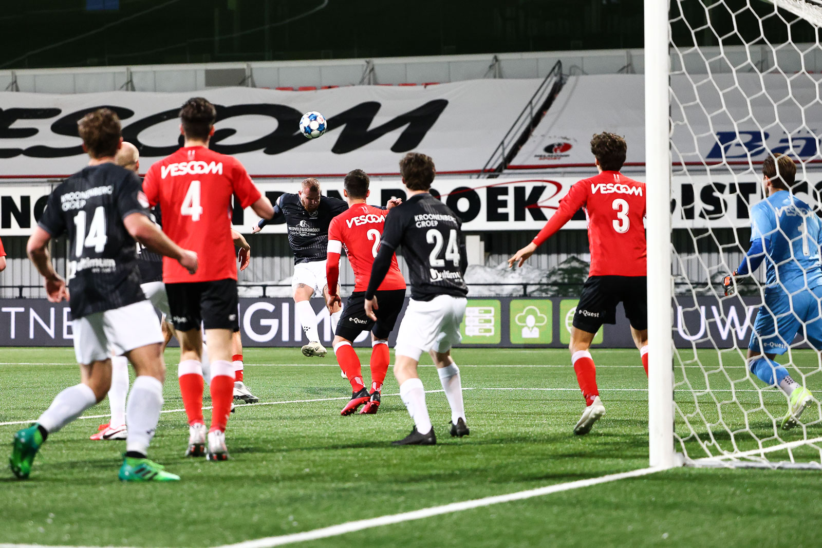 Kater Almere City FC op Vastenavond