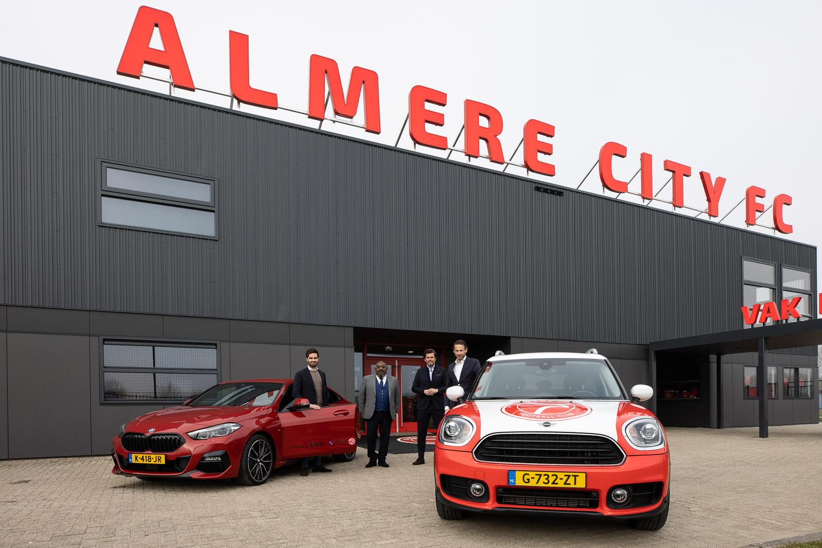 Ekris ook komende seizoen mobiliteitspartner Almere City FC