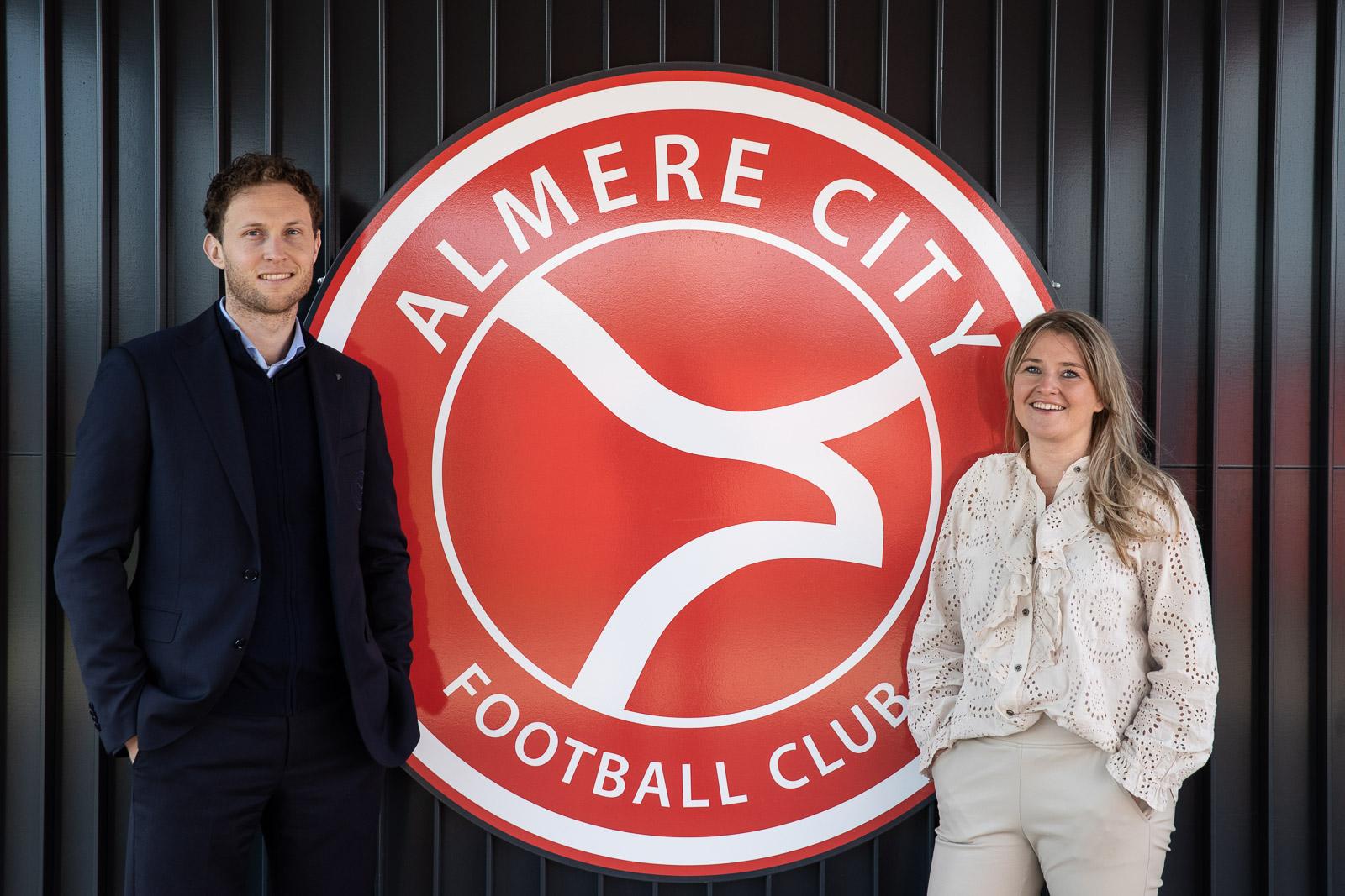 """Versterking kantoorteam: ,,Het Almere City DNA zit er snel in"""""""