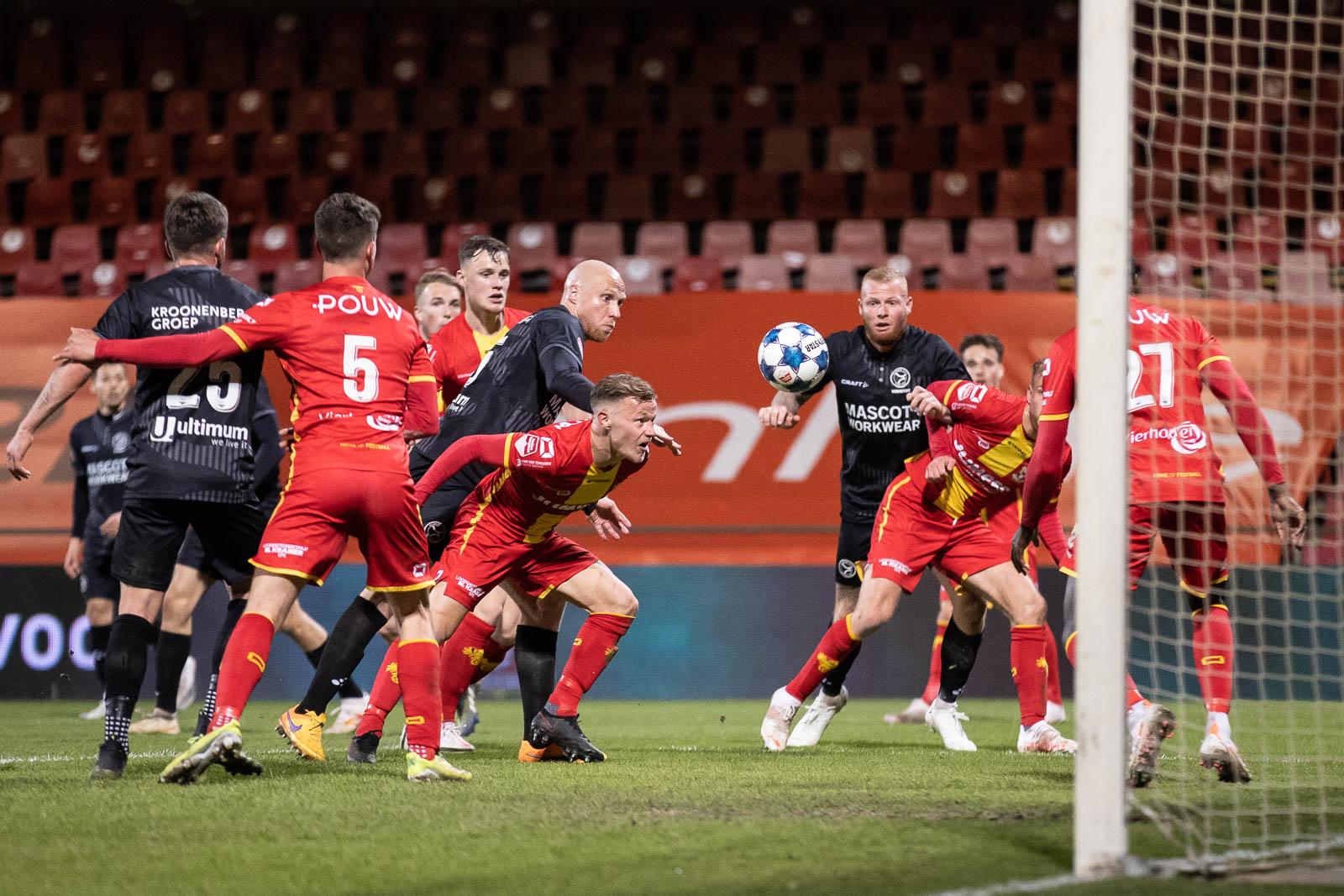 Averij voor Almere City FC in de Adelaarshorst