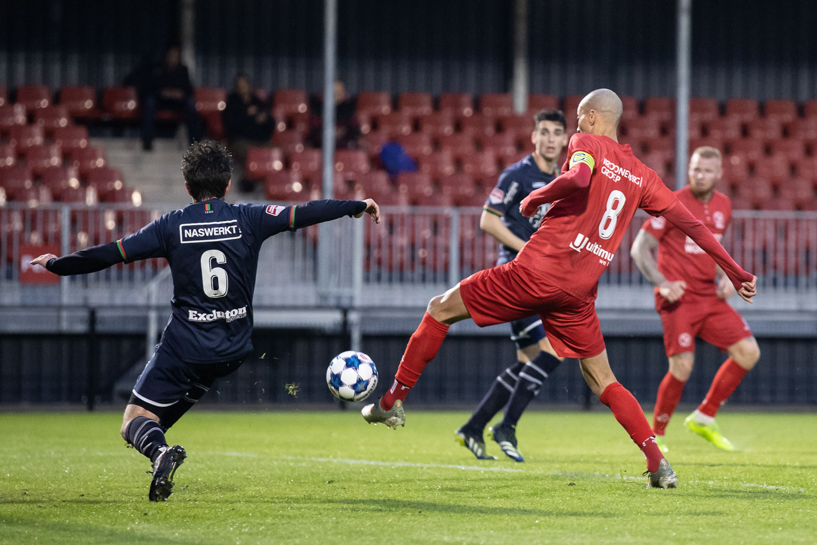 Almere City FC verliest in eerste ronde play-offs