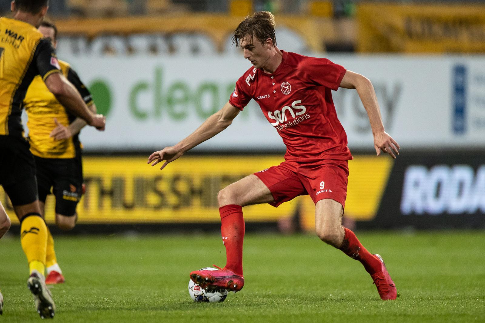 Maarten Pouwels gaat 'vol goede moed naar volgende match'