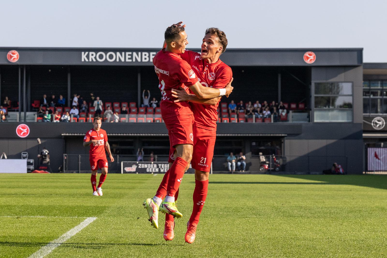Ilias Alhaft geeft Almere City FC vleugels