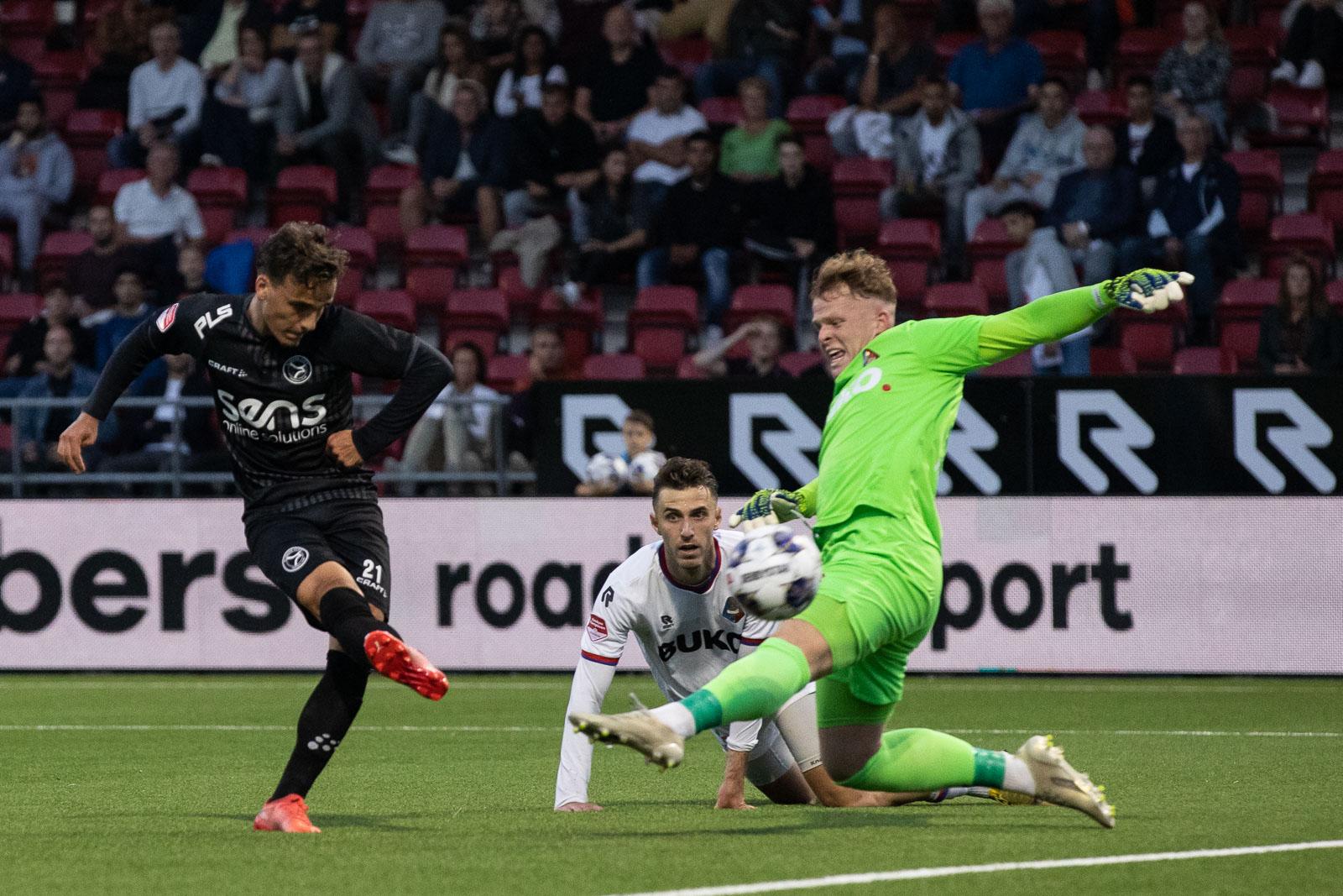 Telstar blijkt een te heet hangijzer voor Almere City FC