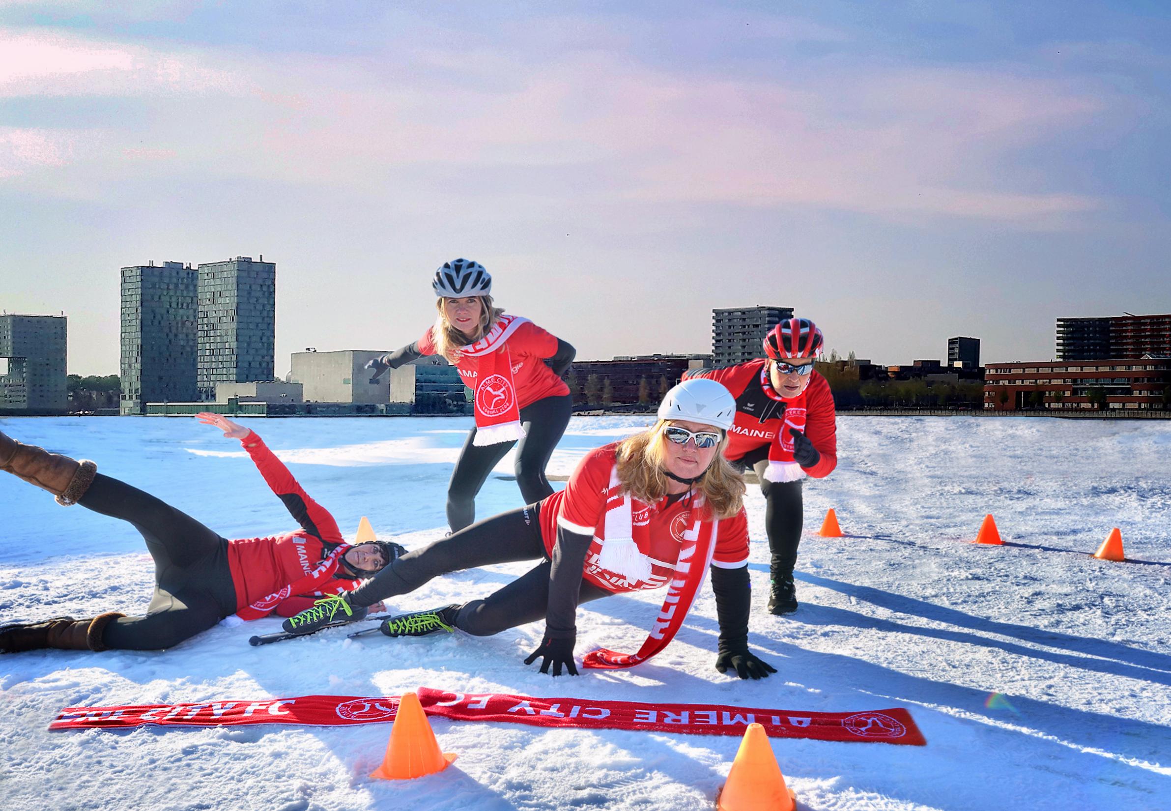 Businessclubleden in beweging met 'De Fitste Club van Nederland'