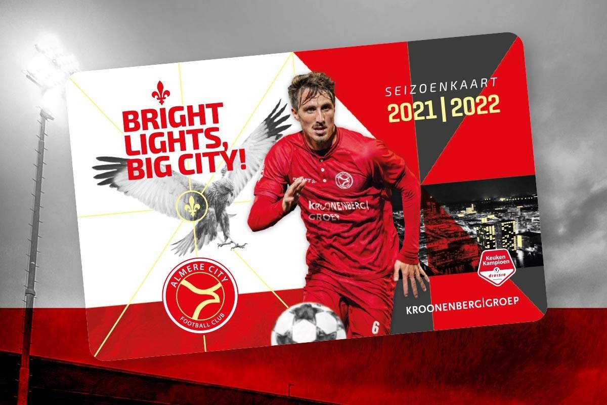 Records voor Almere City FC op openingsdag seizoenkaartverlenging